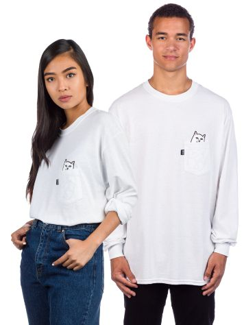 RIPNDIP Lord Nermal Pocket Camisa Manga Comprida