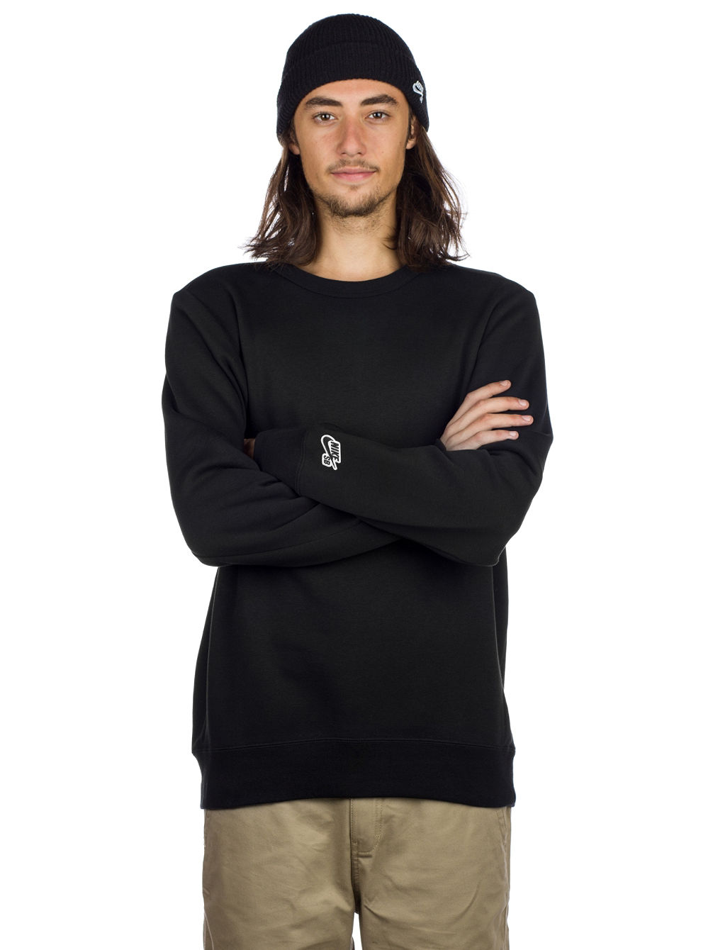 69af49e6 Buy Nike SB Crew Icon Fleece Essential Sweater online at Blue Tomato