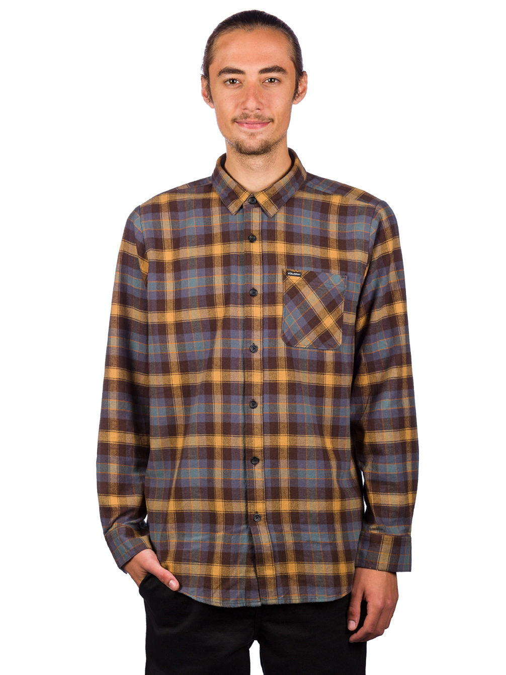 Caden Plaid Hemd