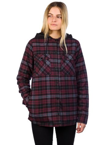Volcom Hooded Flannel Shirt LS