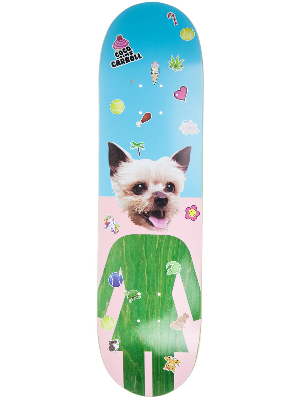 "One Offs Carroll 8.375"" x 31.75"" Skate Deck"