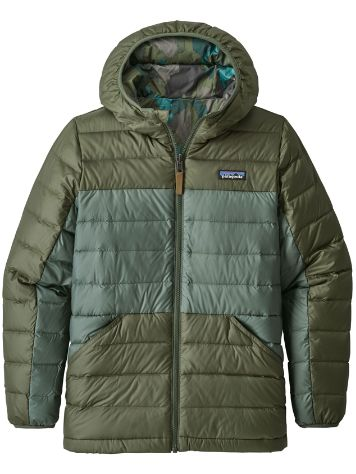 Patagonia Reversible Down Sweater Hooded Jacket Bo