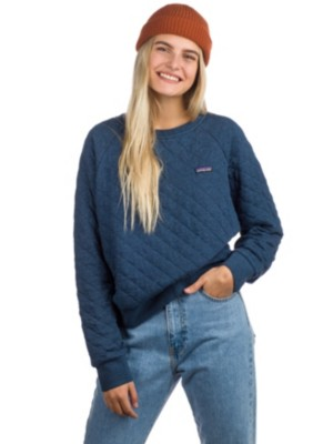 Quilt Crew Online Cotton Buy Blue Patagonia At Sweater HEXqwtv