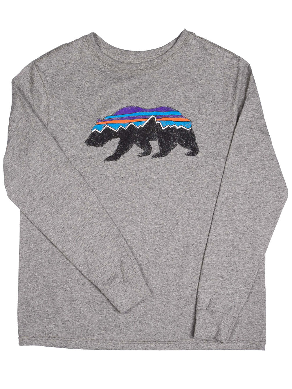 Graphic Organic Long Sleeve T-Shirt