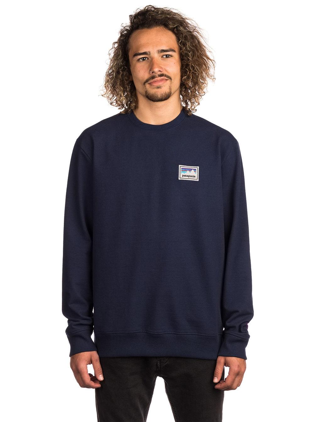 watch ee3e4 3ca89 Shop Sticker Patch Uprisal Crew Sweater