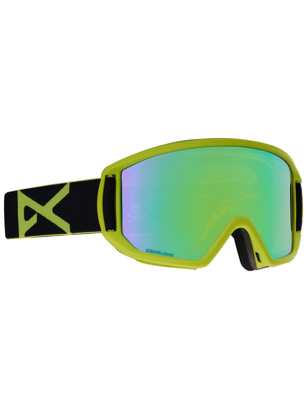 Relapse Black Green Goggle