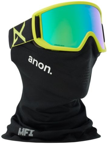 Anon Relapse Mfi Black Green Goggle