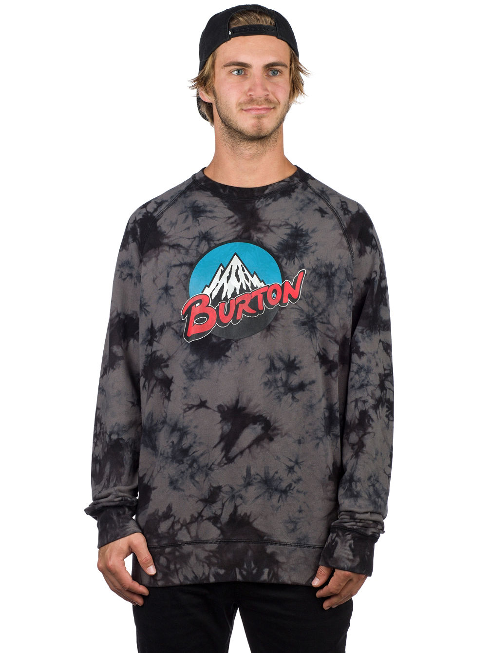Retro Mountain Organic Crew Sweater