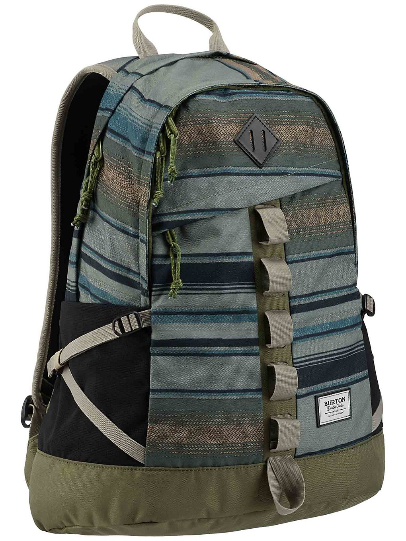 Image of Burton Shackford Backpack tusk stripe print Uni