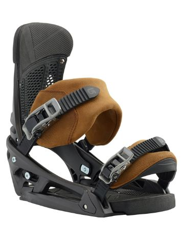 Burton Malavita Leather Fixations de Snowboard