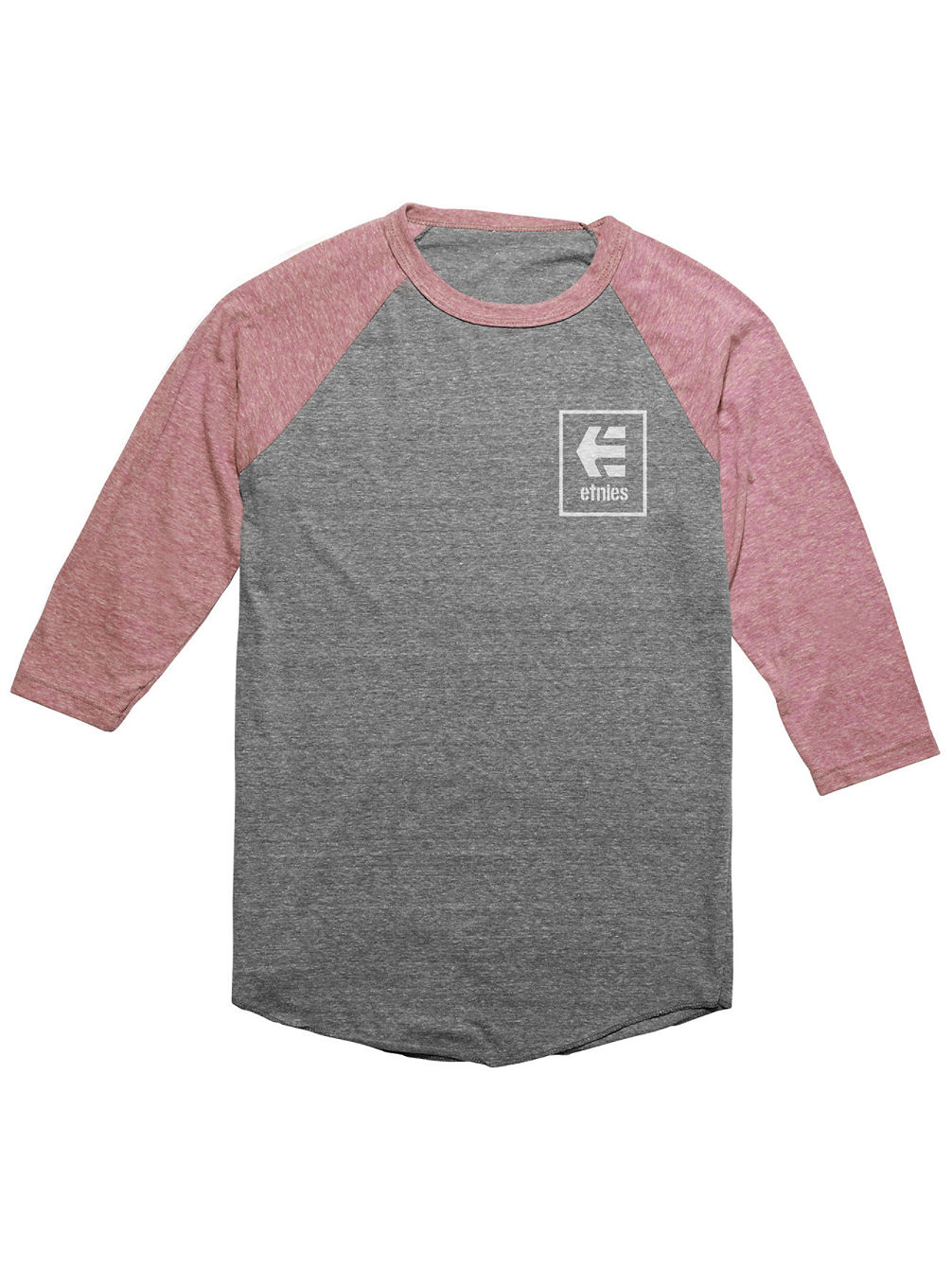 Stack Box Raglan Camiseta