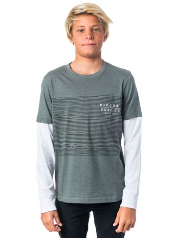 Rip Curl Premium Fancy Stripe T-Shirt Jungen