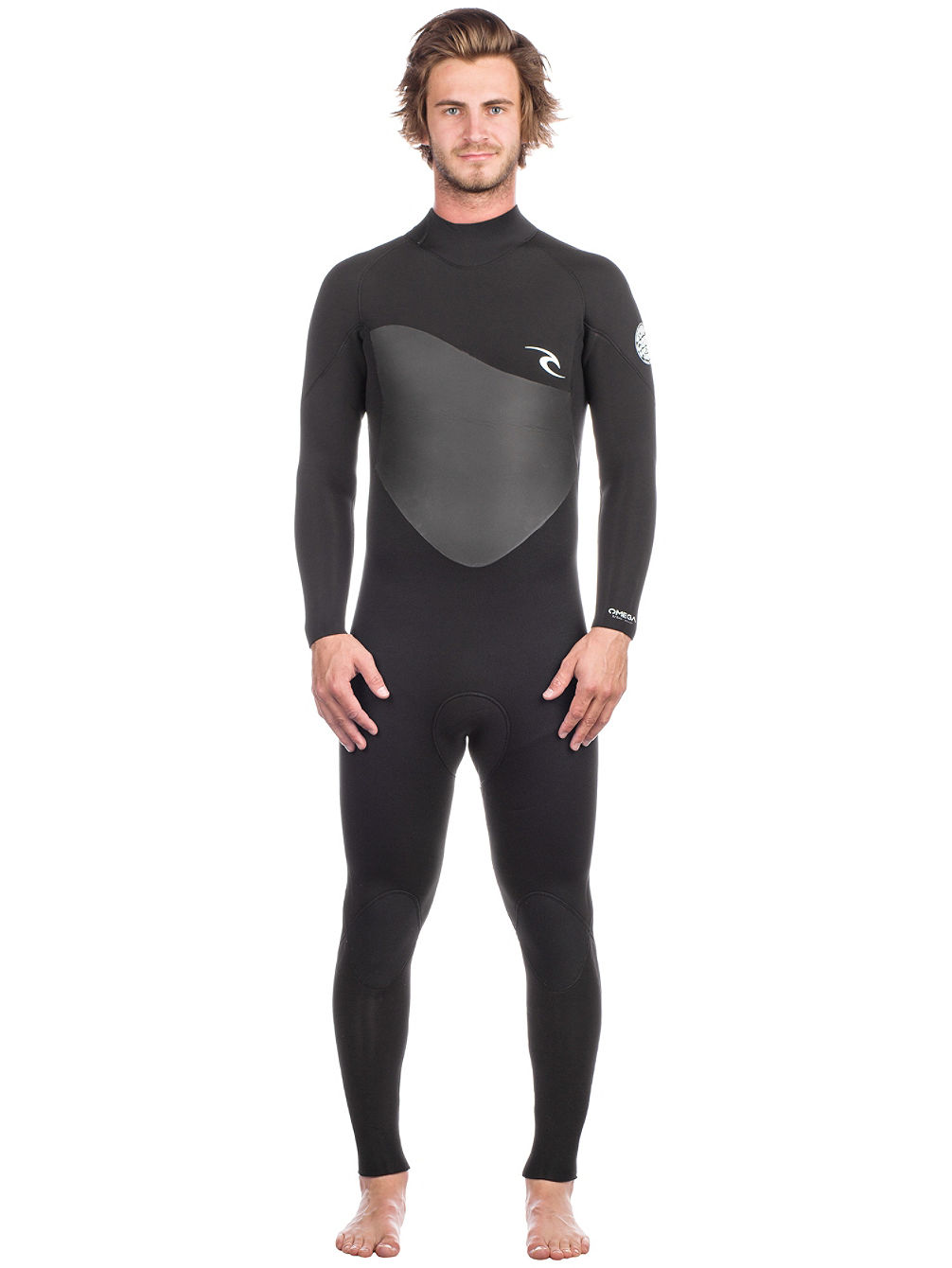 Omega 5/3 Gb Back Zip Wetsuit