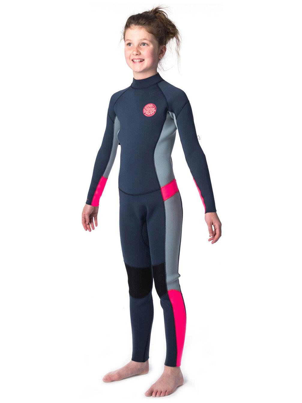Buy Rip Curl D Pat 5 3 Gb Back Zip Wetsuit Girls online at blue ... d211dceca