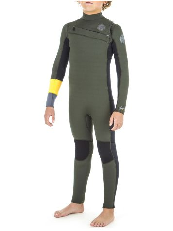 Rip Curl Aggro 3/2 Gb Chest Zip Wetsuit Boys