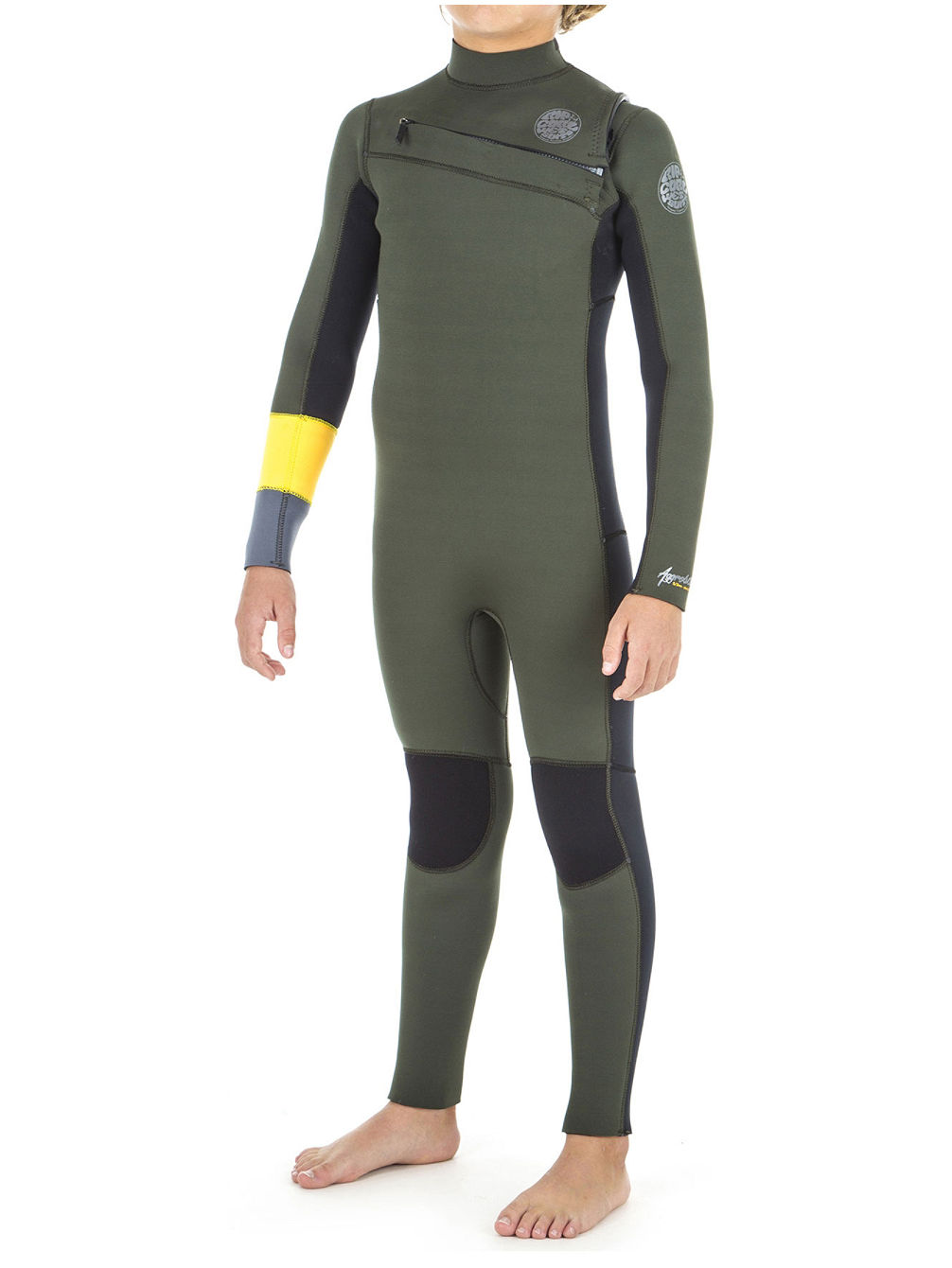 Buy Rip Curl Aggro 5 3 Gb Chest Zip Wetsuit Boys online at blue ... 0db1165bc
