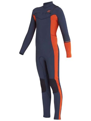 Billabong 4/3 Furnace Revo Chest Zip LS Wetsuit Bo