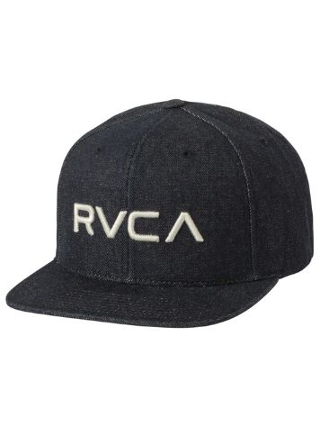 save off 4792a a7012 31.35  New RVCA RV Twill Snapback III Cap