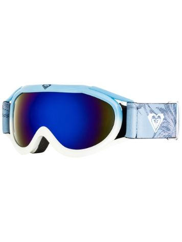 Roxy Loola 2.0 Powder Blue/Swell Flowers Youth Goggle jongens