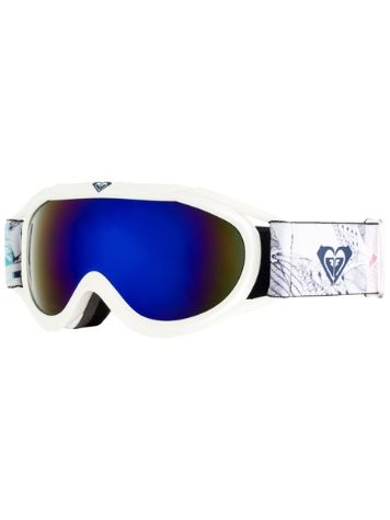 Roxy Loola 2.0 Bright White/Alska Bird Youth Goggle jongens