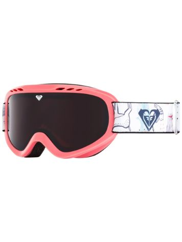 Roxy Sweet Bright White/Animals Party Youth Goggle jongens