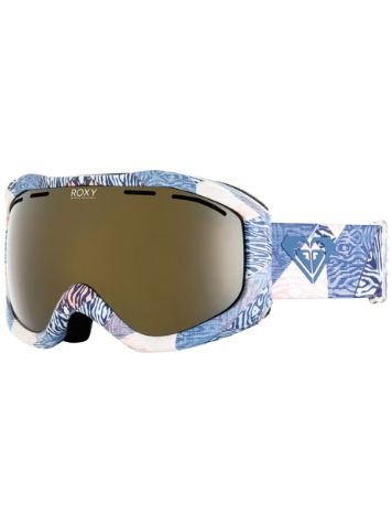 Roxy Sunset Art Series Powder Blue/Animal Geo Goggle