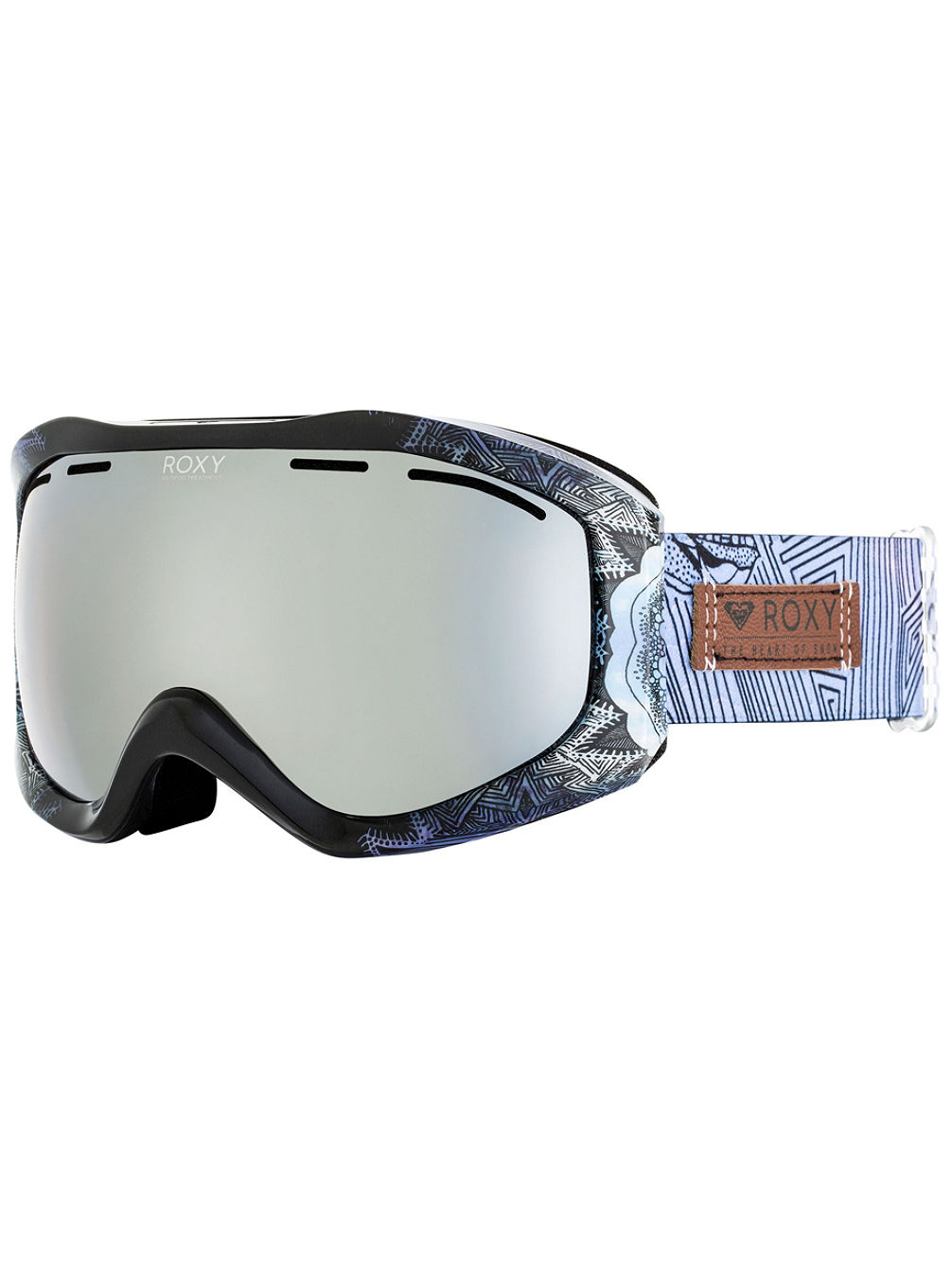 Sunset Art Series Crown Blue/Freezeland Goggle