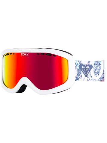 Roxy Sunset Ml Bright White/Freespace Girl Goggle