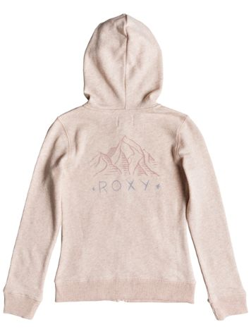 Roxy Last Smile Wavey Mountain Zip Hoodie Gir