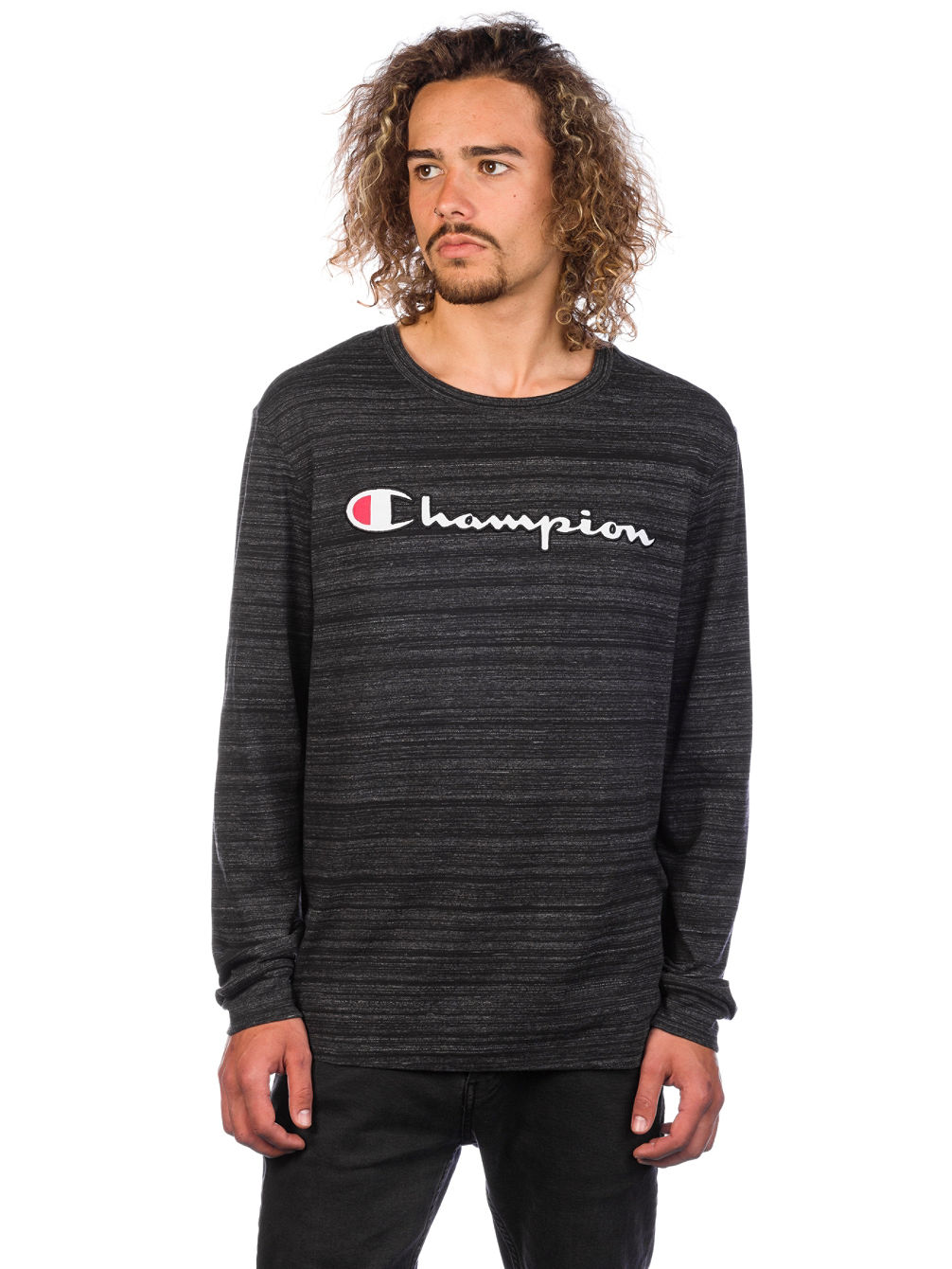 470aaa0d Buy Champion Crewneck Long Sleeve T-Shirt online at Blue Tomato