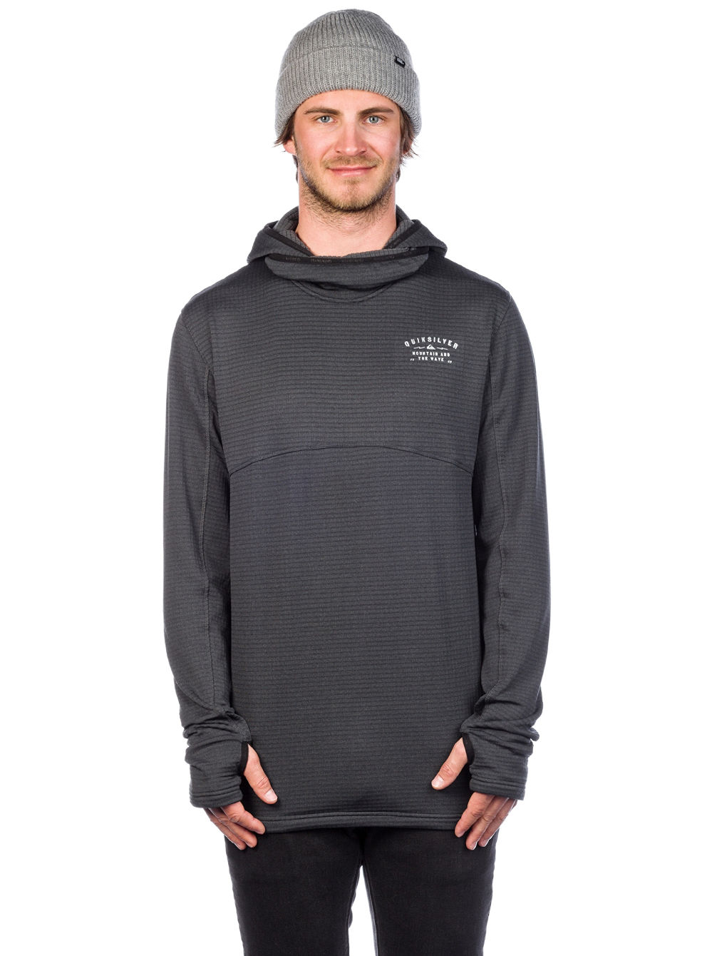 Travis Rice Log Hooded Funktionsshirt
