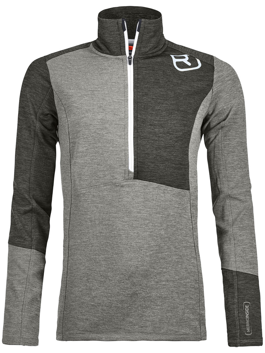 Light Zip Neck Fleece Pullover