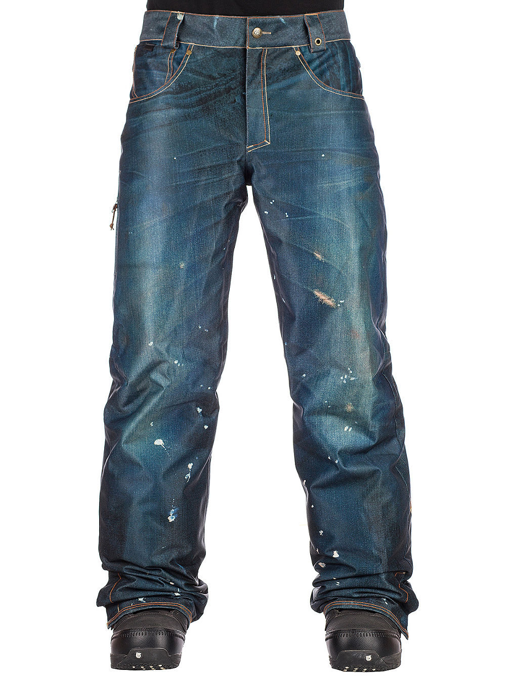4319b34e Buy 686 Deconstructed Denim Insulated Pants online at Blue Tomato