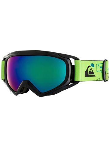 Quiksilver Eagle Lime Green/Moam Tatt Youth Goggle jongens