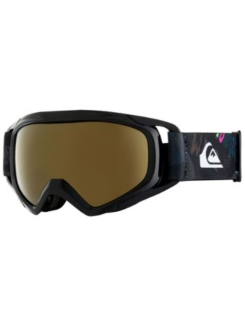 Quiksilver Eagle Black/A Night At The Mountain Youth Goggle jongens