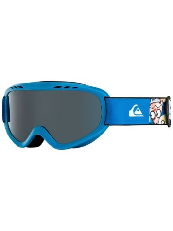 Quiksilver Flake Goggle Daphne Blue/Animal Party Youth Goggle jongens