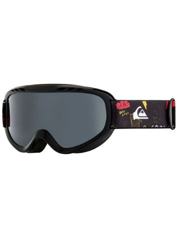 Quiksilver Flake Goggle Black/Maoam Tatt Youth Goggle jongens
