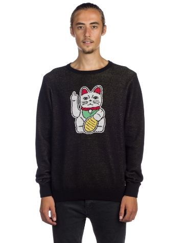 Iriedaily Bye Bye Cat Knit Sweater