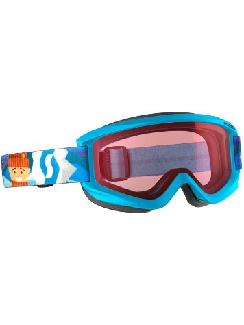 Scott Agent Blue Youth Goggle jongens