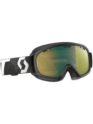 Scott Witty Chrome Black Youth Goggle jongens