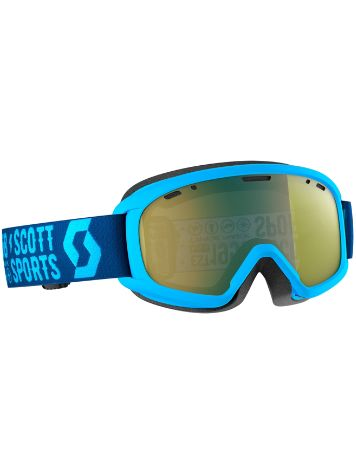 Scott Witty Chrome Blue Youth Goggle jongens