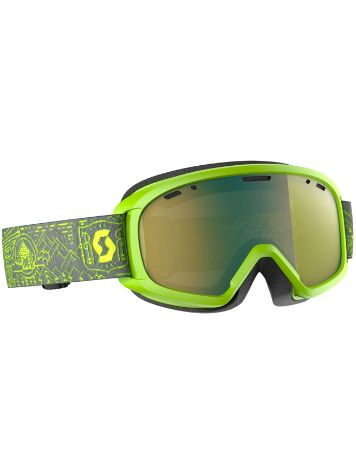 Scott Witty Chrome Yellow Youth Goggle jongens