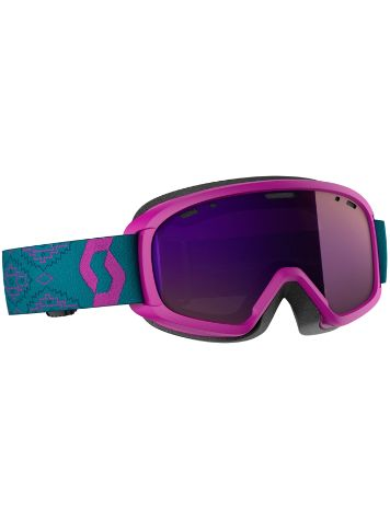 Scott Witty Chrome Purple Youth Goggle jongens