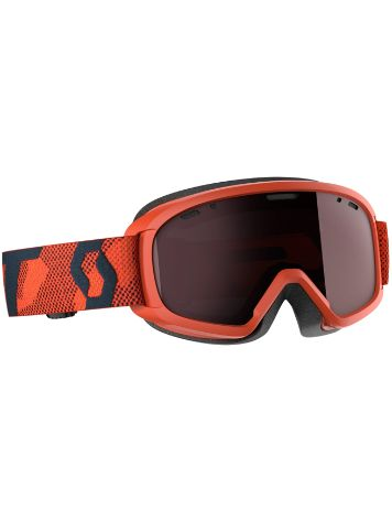 Scott Witty Chrome Orange Youth Goggle jongens