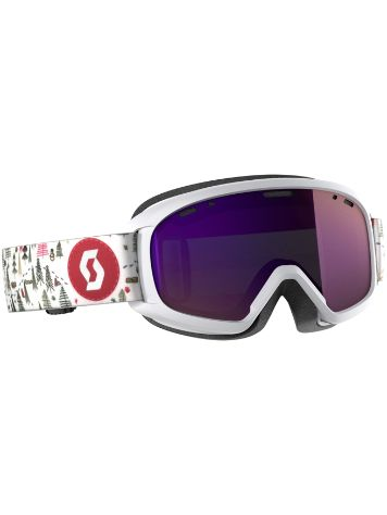 Scott Witty Chrome White Pink Youth Goggle jongens