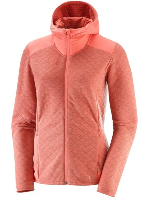 Elevate Jacket Salomon Midlayer Heather Fz Fleece Dubarry qw4ZOa