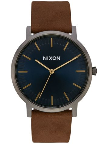 Nixon The Porter Leather Rannekello