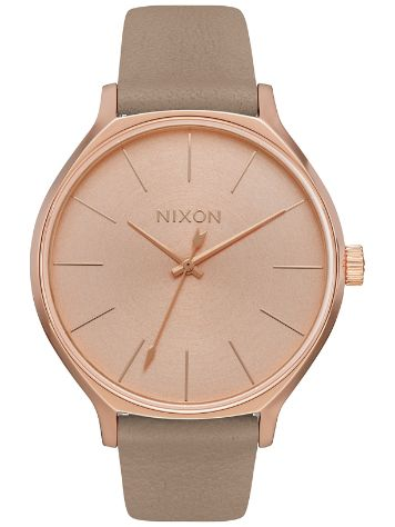 Nixon The Clique Leather Reloj