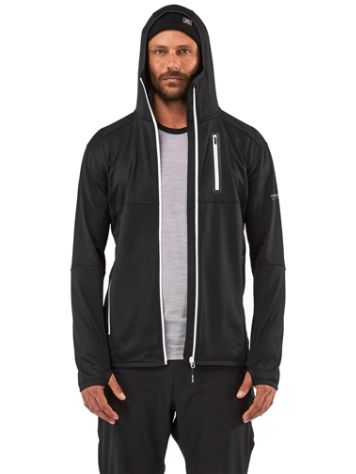 Mons Royale Merino Approach Tech Mid Hooded Jacke