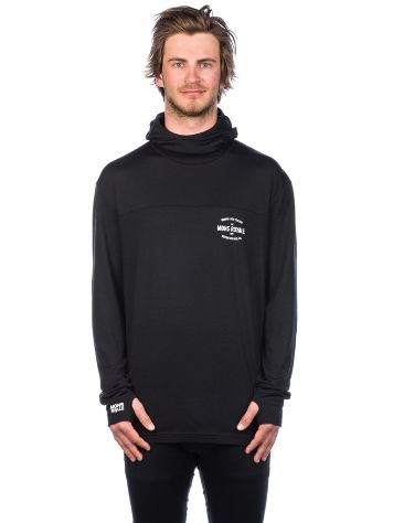 Mons Royale Merino Yotei Powder Hood Tech Tee LS